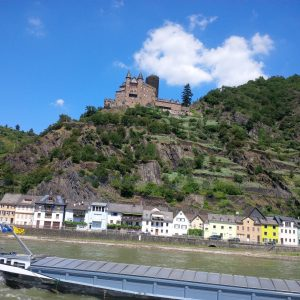 A beautiful day on the Rhine River