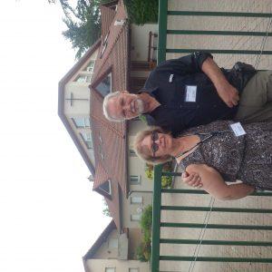 Larry and Linda Bardel at Colmar-Ingersheim Mennonite Church
