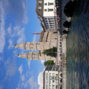 The Grossmünster in Zurich