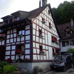 Half-timbered house in the Hemmental