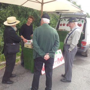 Cherry vendor in England