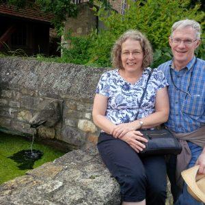 Joel and Mary Kulp in Wolfsheim