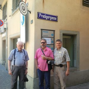 Three preachers at Preacher's Street