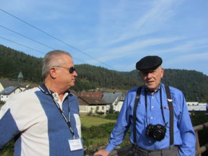 Bob and John in deep discussion overlooking the Black Forest