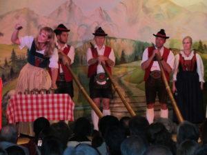 A Tyrolean Folk Show in Innsbruck, Austria