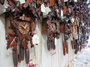 Herr House of Clocks in Hornberg in the Black Forest
