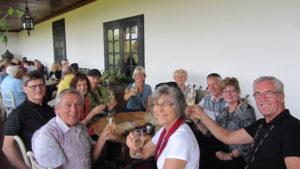Wine and Cheese at Quinta da Aveleda gardens