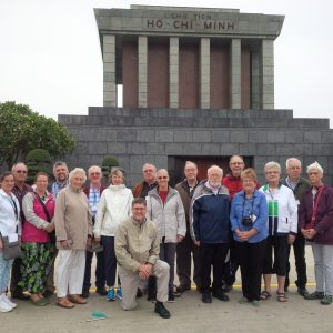 Our group at the Mausoleum