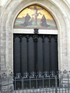 Castle Church door