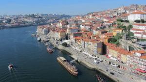 Port city of Porto