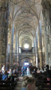 Inside Jerónimos Monastery