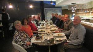 Farewell dinner in Lisbon