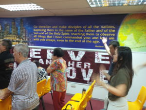 Singapore Mennonite Church worshippers