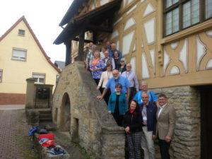 Group at the Steinsfurt cellar