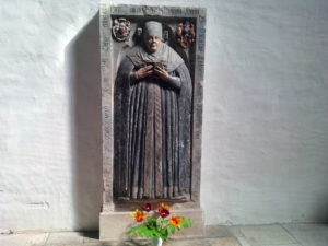 Katharine Luther's grave marker