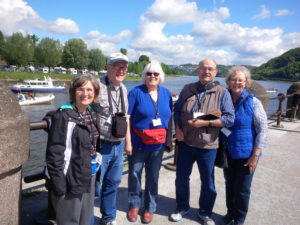 The Taylor family in Koblenz