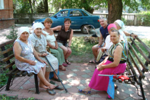 Ukrainian seniors in poverty