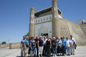 Photo of a group tour to see The Ark in Bukhara on Great Trek Heritage tour