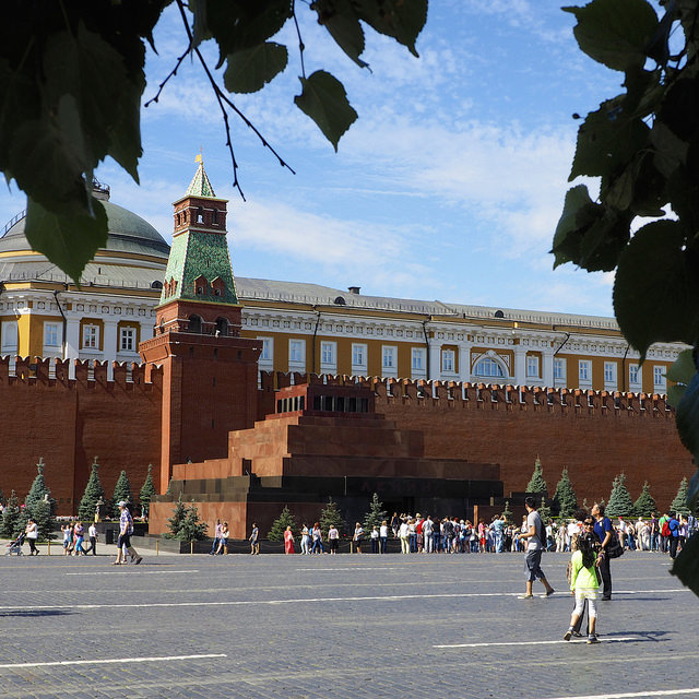 Lenin's Mausoleum in Moscow. Photo: Clay Gilliland