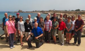 Holy Land group tour with a peace building focus.