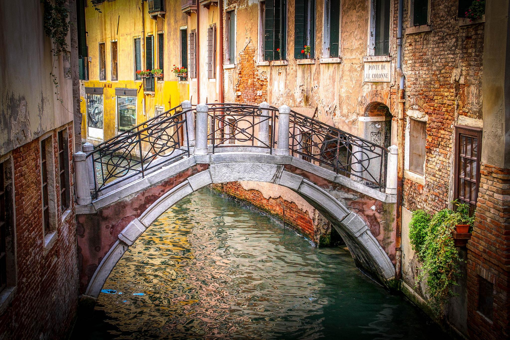 Venetian Bridge. Photo credit: Mike Beales.