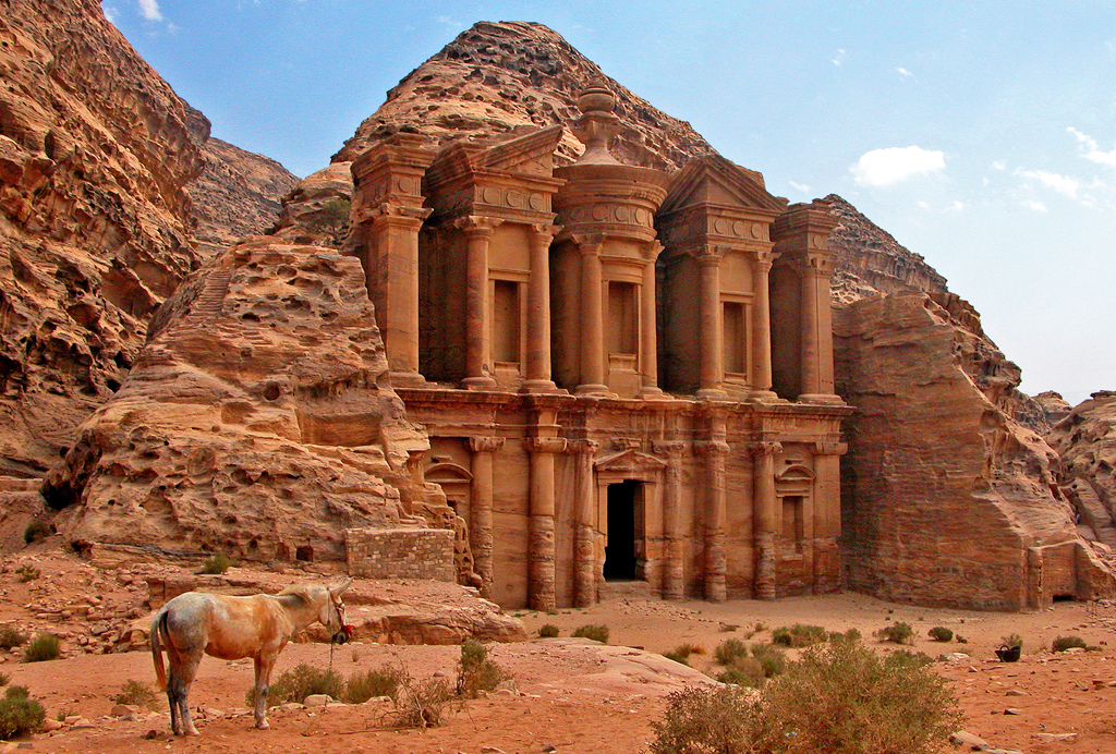 Petra, Jordan. Photo credit: Dennis Jarvis