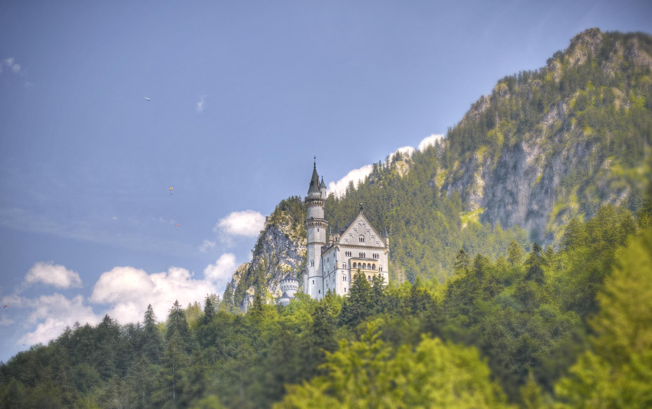Neuschwanstein Castle in Bavaria. Photo credit: Andrew Czap