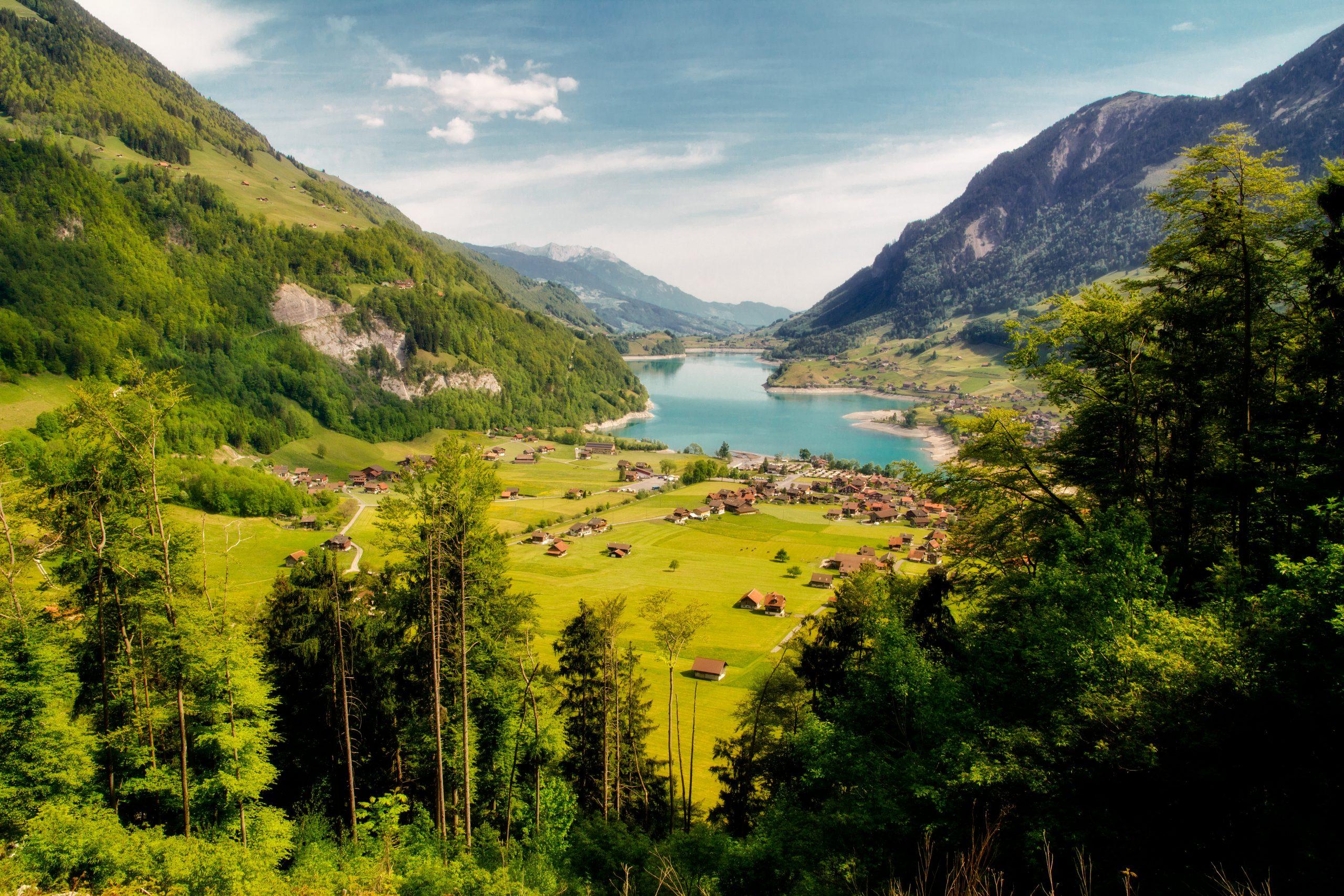 In the Swiss Alps. Photo by Artur Staszewski