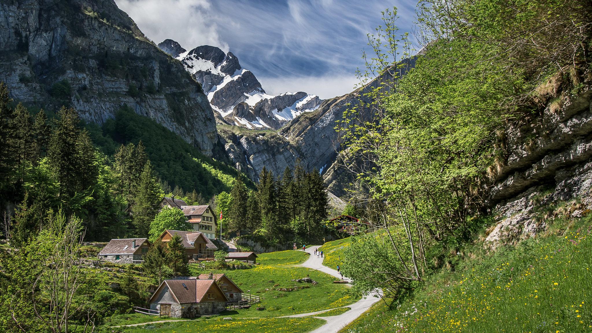 Appenzell, Switzerland. Photo credit: kuhnmi
